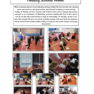 healthy schools week activities