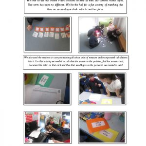 active maths sessions