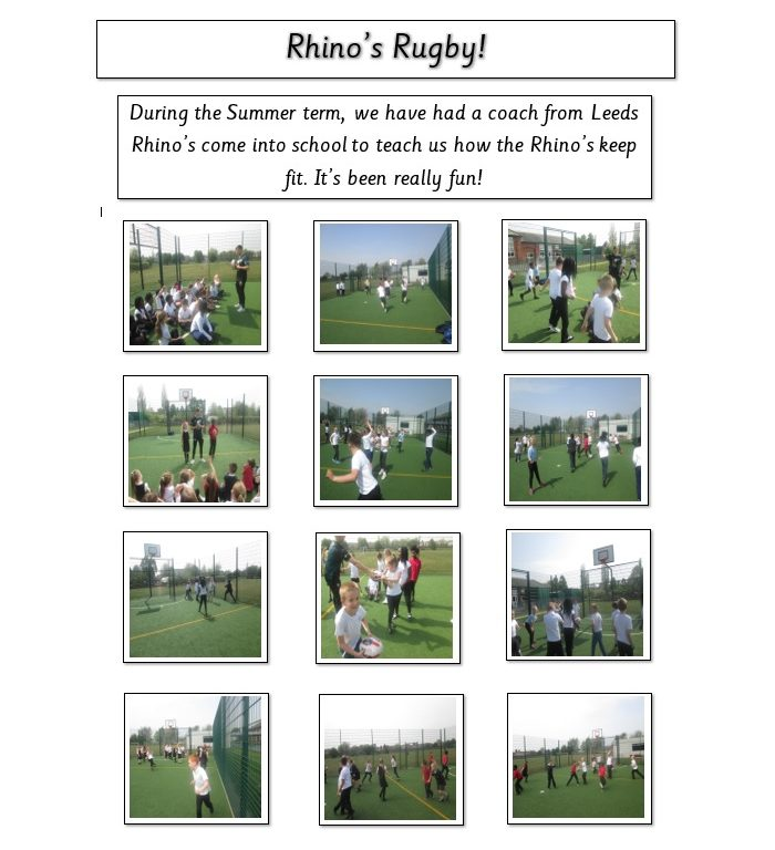 playing rugby with leeds rhinos coach