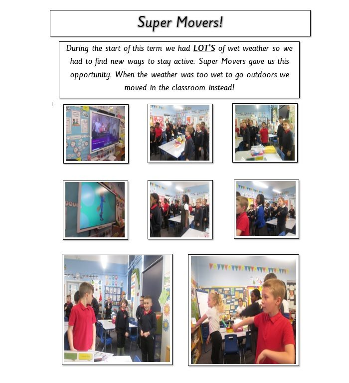 super movers playtime activity