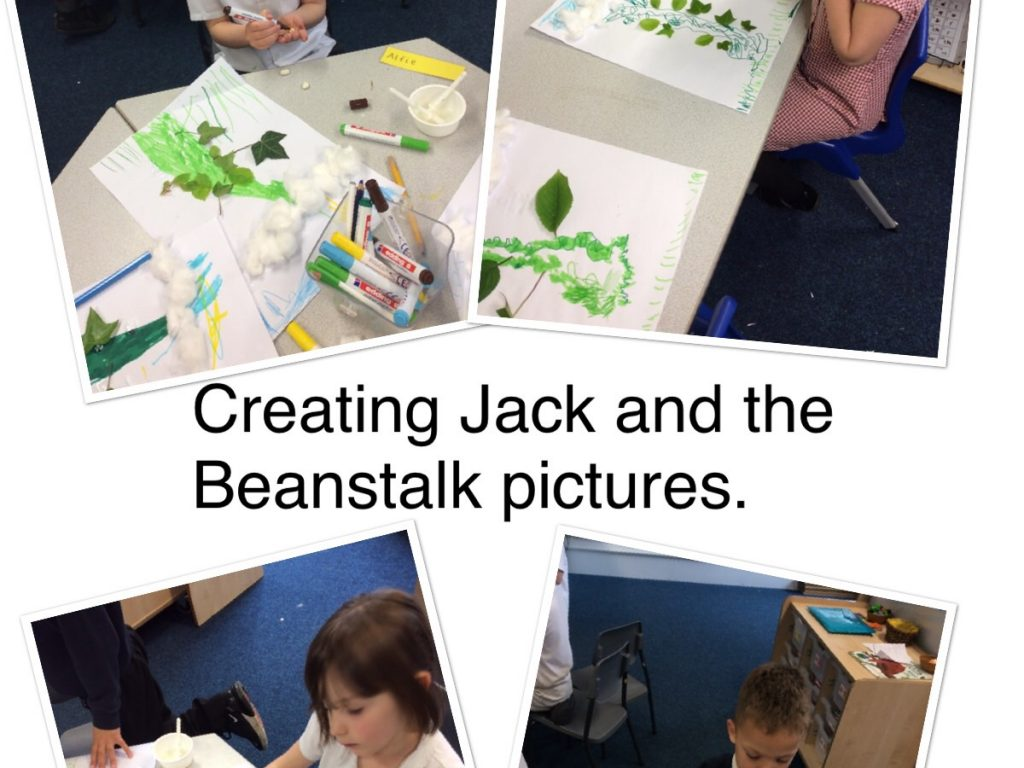 drawing jack and the beanstalk